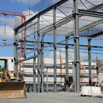 Neubau einer Gewerbehalle Wolfsburg