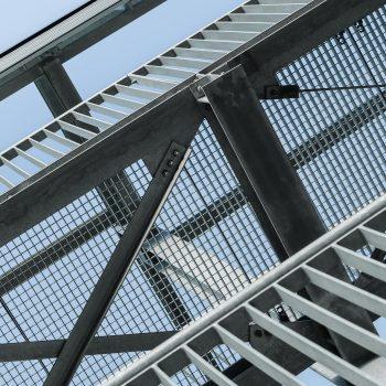 Stahlkonstruktion in Wolfsburg